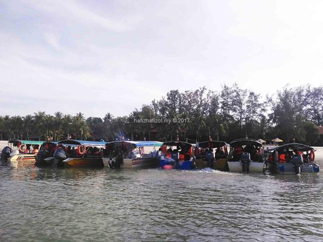 speed boat di langkawi