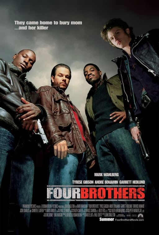 Poster Of Four Brothers (2005) Full Movie Hindi Dubbed Free Download Watch Online At Alldownloads4u.Com