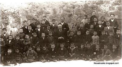 Curso escolar antiguo de Candelario Salamanca