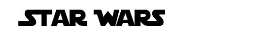 StarJedi font logo Star Wars