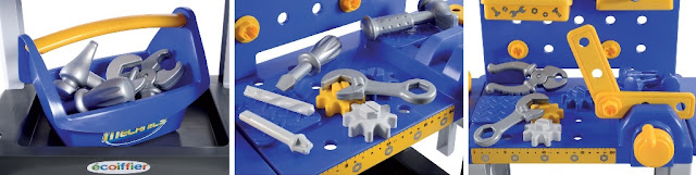 Bàn dụng cụ kỹ sư Ecoiffier 2450 Modular Workbench thật hấp dẫn