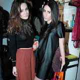WWW.ENTSIMAGES.COM - Maria-Elena Medvedeva and Nicole Fernandes  at  Kriss Soonik Voodoo Valentine's PartyLuxury lingere brand celebrates Valentine's Day -  launches their new collection, with a themed party.Wolf & Badger, Dover Street, London February 6th 2013                                                  Photo Mobis Photos/OIC 0203 174 1069