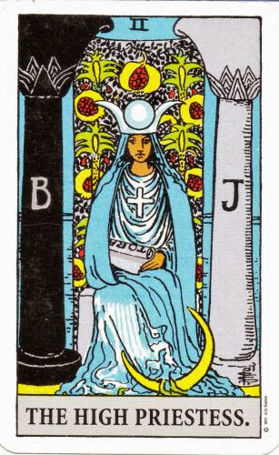 Friday Tarot The Fools Journey Continues The High Priestess