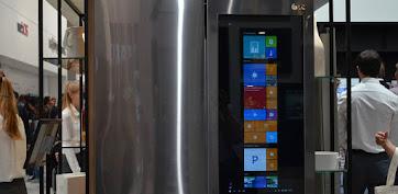 IFA 2016: LG ra mắt tủ lạnh chạy hệ điều hành Windows 10