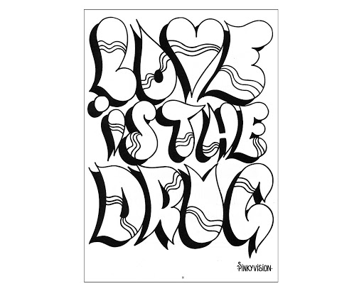 Top Graffiti Words Coloring Pages For Teenagers Photos ...