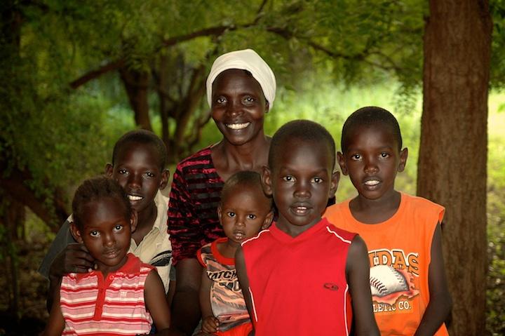 Miriam and kids