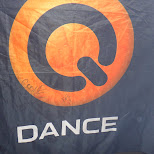 signed q-dance flag by Coone in Toronto, Ontario, Canada