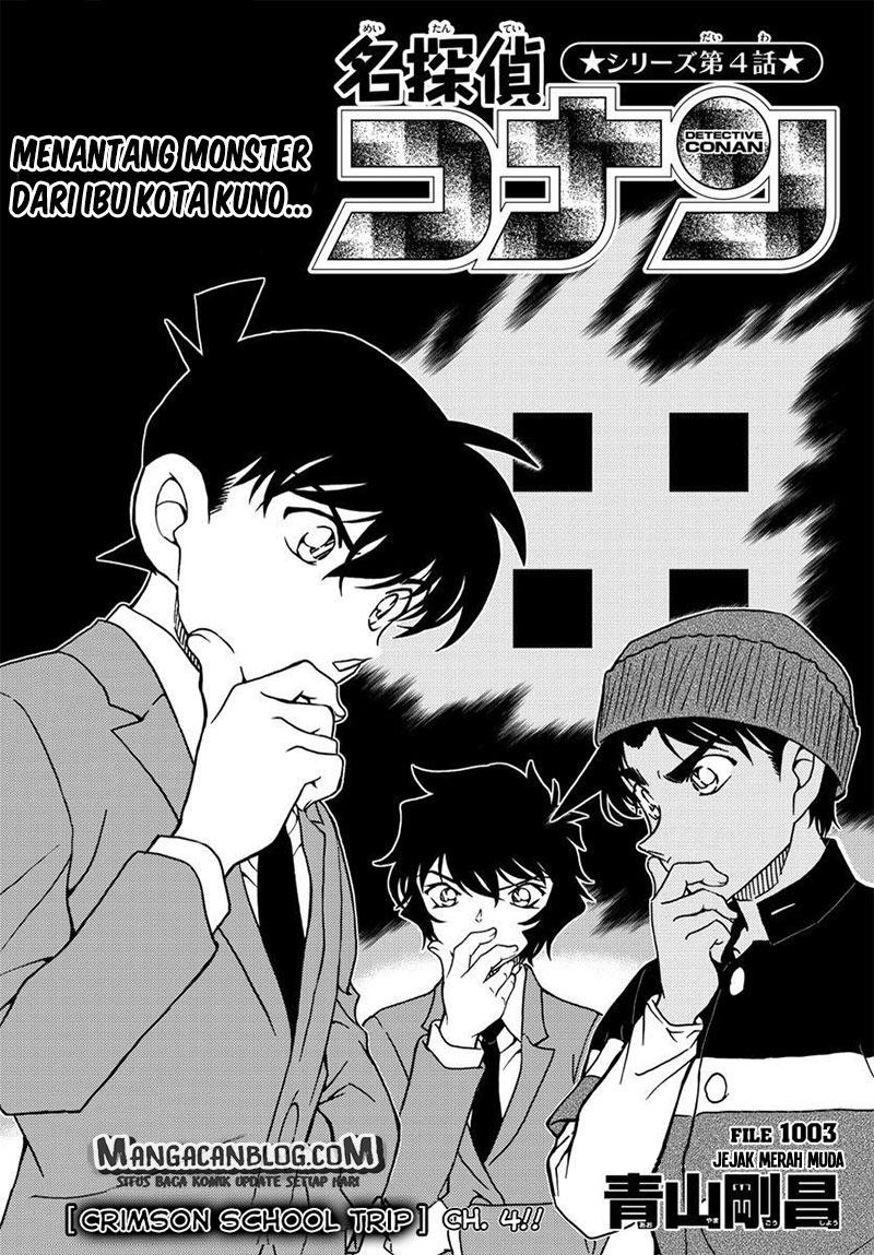 Detective Conan Chapter 1003-0