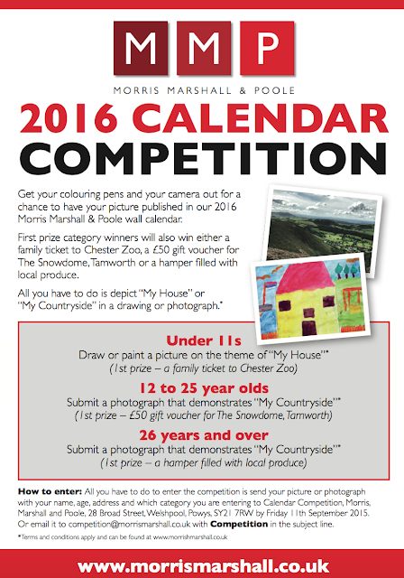 Morris, Marshall and Poole Calendar Competition