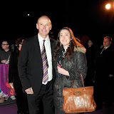 WWW.ENTSIMAGES.COM - Sir Clive Woodward  arriving  at  Cirque Du Soleil: Kooza VIP Royal Albert Hall London January 8th 2013                                                       Photo Mobis Photos/OIC 0203 174 1069