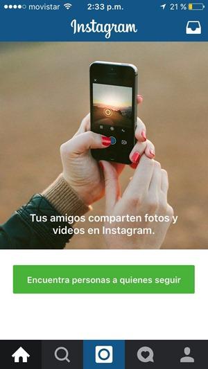 Listo para usar Instagram