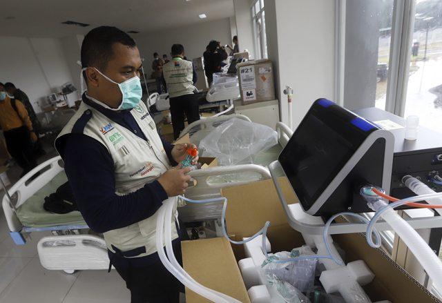 RS Darurat Wisma Atlet Tak Terima Pasien Korona Kondisi Berat