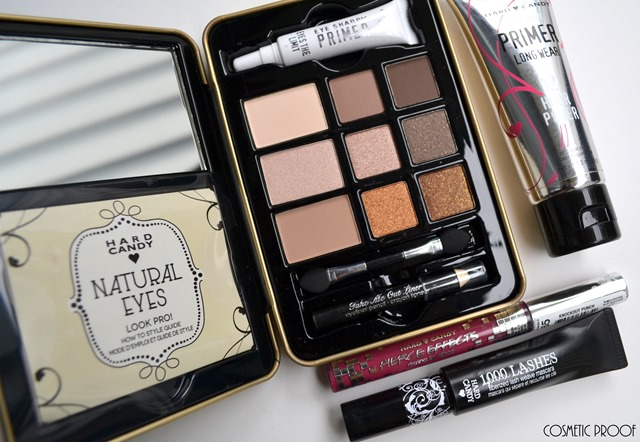Too Faced Natural Eyes Hard Candy Review Swatches