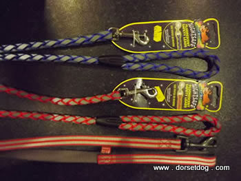 Lazy Bones reflective leads, made by Den Marketing