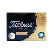 Langer's Titleist Pro V1 Golf Balls – Box