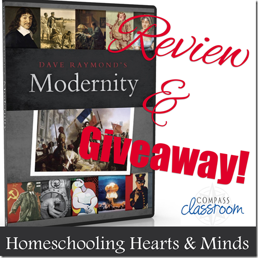 Dave Raymond's Modernity---World History from Compass Classroom Review and Giveaway!