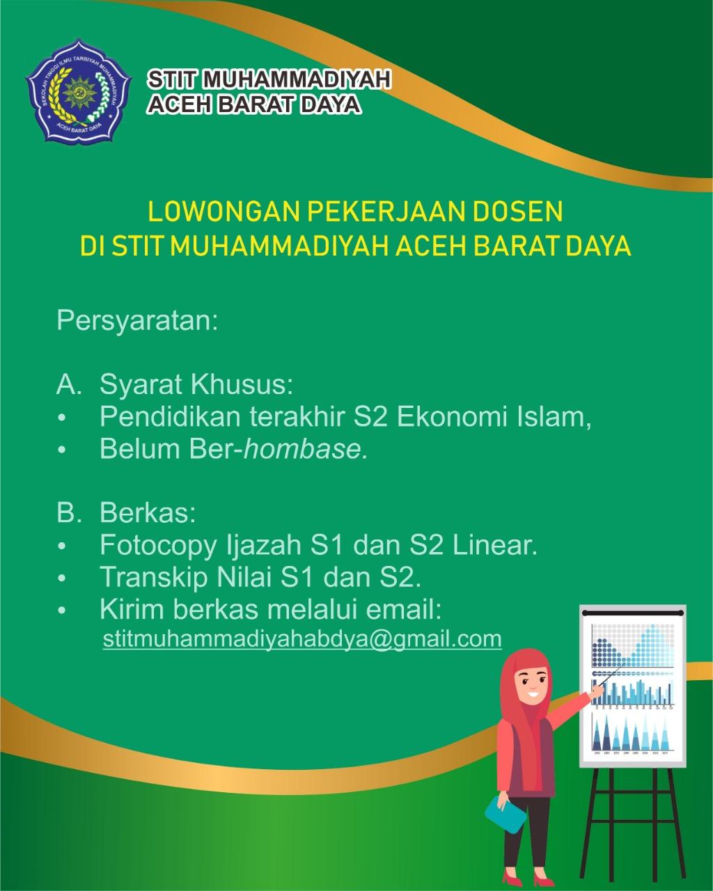 Lowongan Kerja Dosen Di Aceh