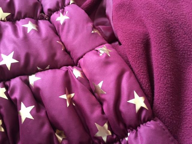 little-dickins-jones-star-coat-fleece-lining