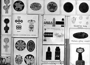 Photo: plansze projektowe z ceramiki