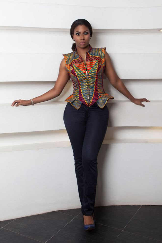 Trendy African Print Dress Ankara 2015 Styles 7