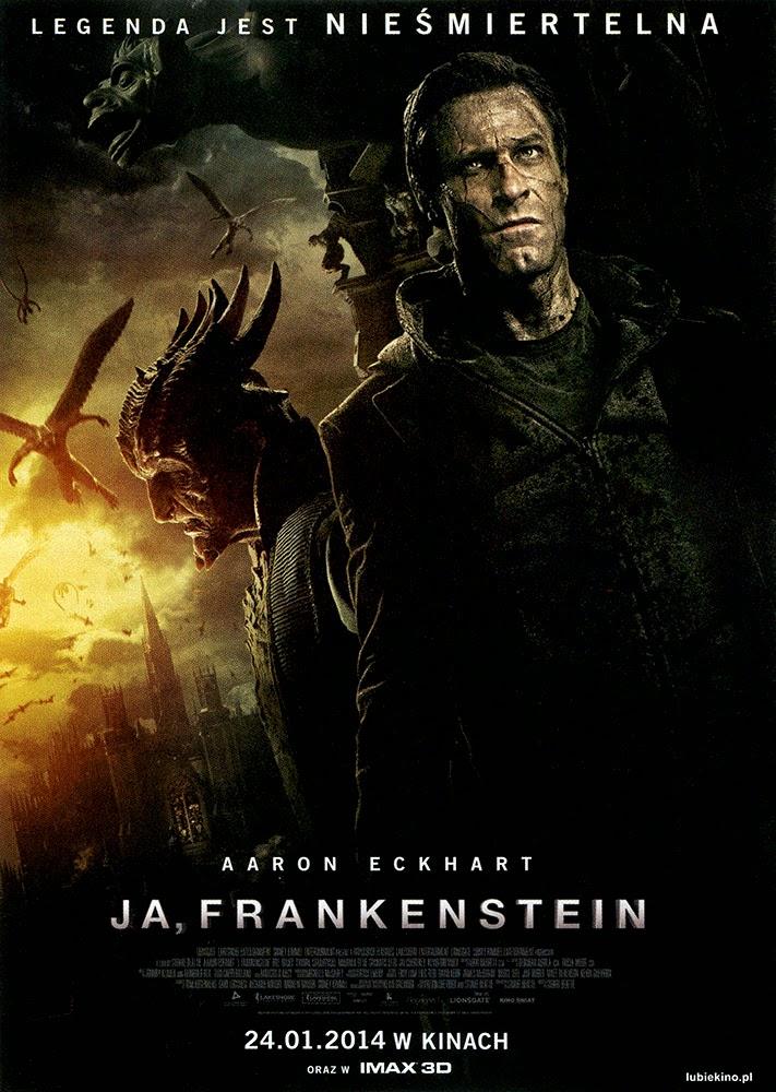 Ulotka filmu 'Ja, Frankenstein (przód)'