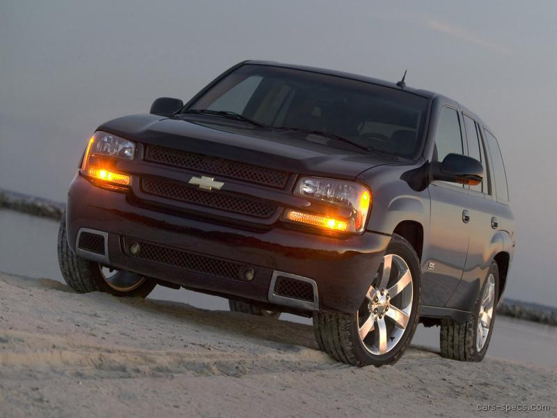 2008 chevrolet trailblazer ss specifications pictures prices. Black Bedroom Furniture Sets. Home Design Ideas