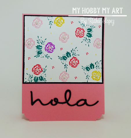 Latina Crafter, Latinas Arts and Craft, Blog Hop de Primavera, Ruthie Lopez 6