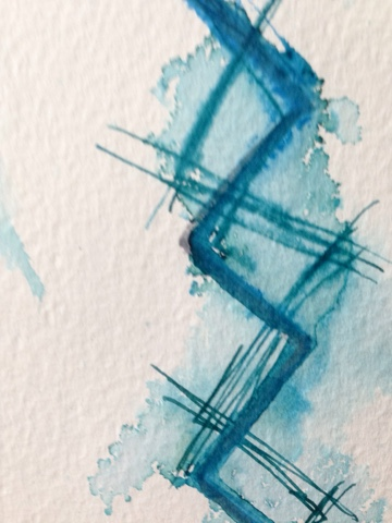 Rachel Loewens: more ink experiments #doitfortheprocess