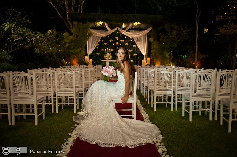 Foto de casamento 0558 de Beatriz e Leonardo. Marcações: 23/04/2011, Casamento Beatriz e Leonardo, Fotos de Vestido, La Novia, Rio de Janeiro, Vestido, Vestido de Noiva.