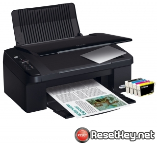 Reset Epson SX105 printer Waste Ink Pads Counter
