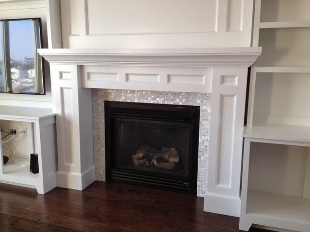 Amazing diy entertainment center and fireplace