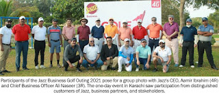 Jazz Business Golf Outing 2021 held in Karachi