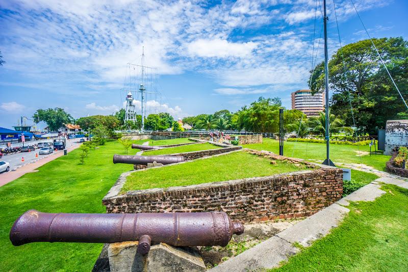 ペナン島 ジョージタウン コーンウォリス砦3