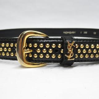 Yves Saint Laurent Studded Belt