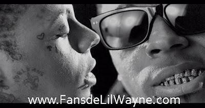 Imagen del video de 6 Foot 7 Foot de Lil Wayne con Cory Gunz, del disco Tha Carter IV. Talking to myself because i am my own consultant