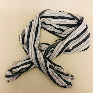 Burberry Silk Blend Scarf