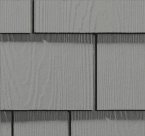 Grey HardieShingle siding