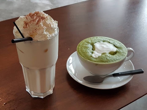 Chai Latte and Matcha Latte from DW Workshop