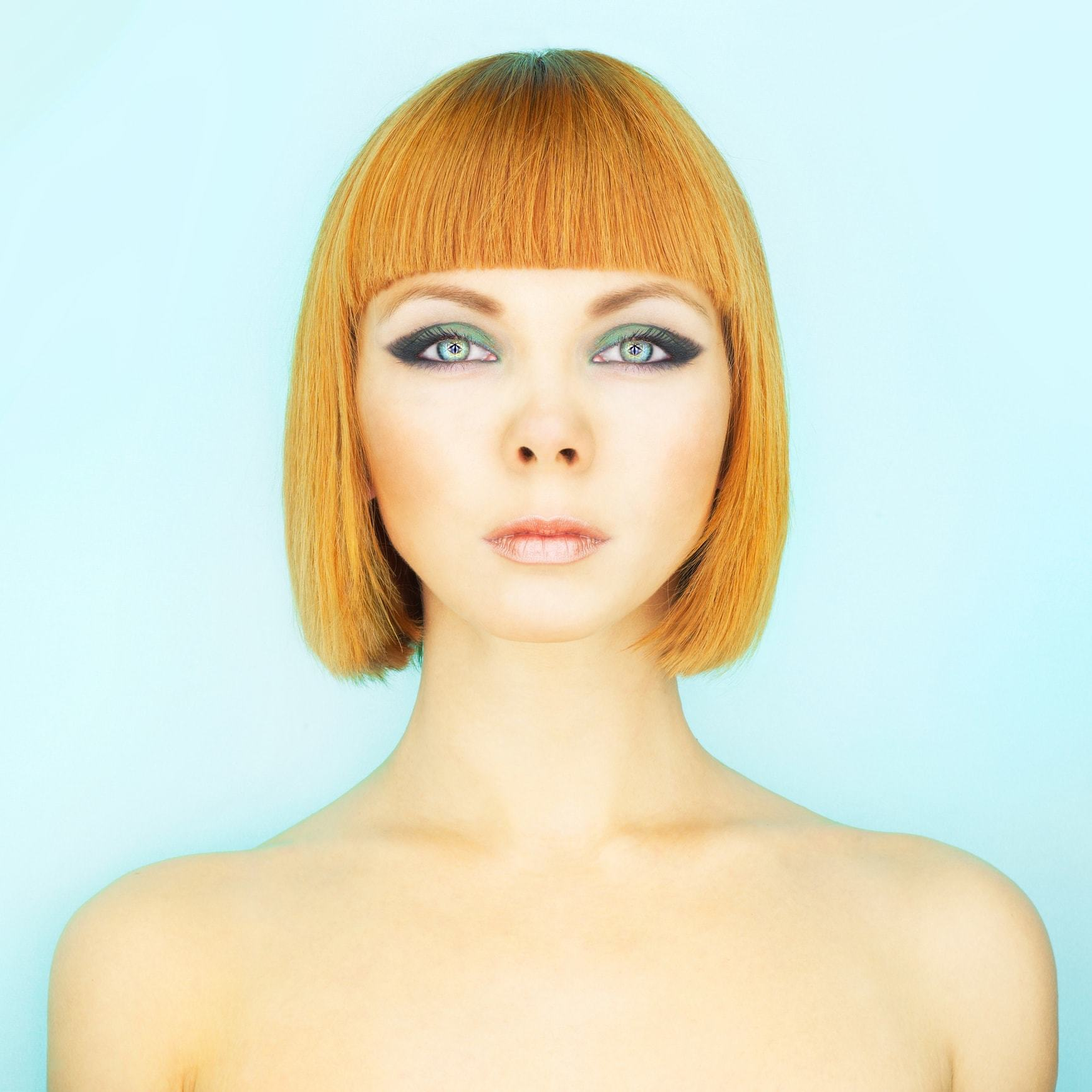 Latest Edgy Short Bangs For Angled Faces-20 Looks to Try 5