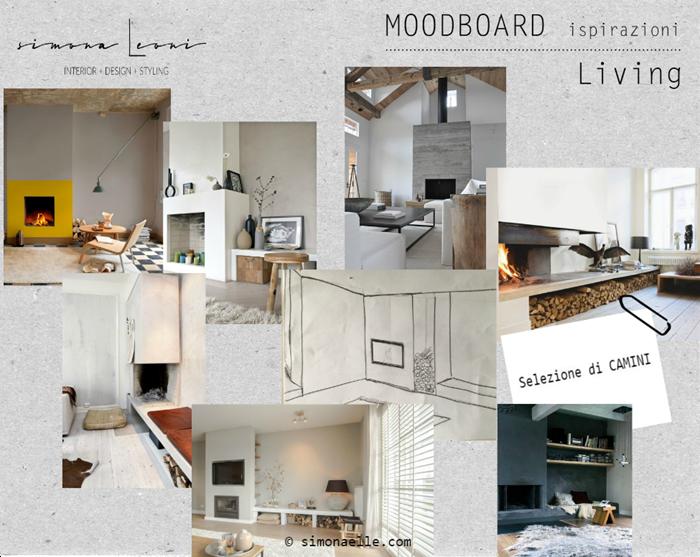 Moodboard_ispirazioni_camino_ambiente_living
