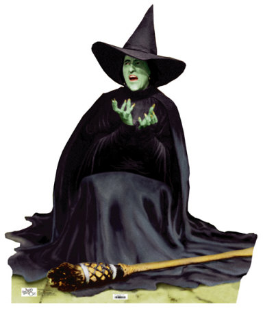 Wicked Witch Melting Wizard, Pretty Witches