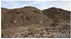 Medan vulkanik berarsir yang khas