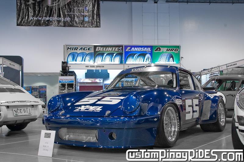 1974 Porsche 911 Carrera RSR 3.0 Custom Pinoy Rides Trans Sport Show pic1
