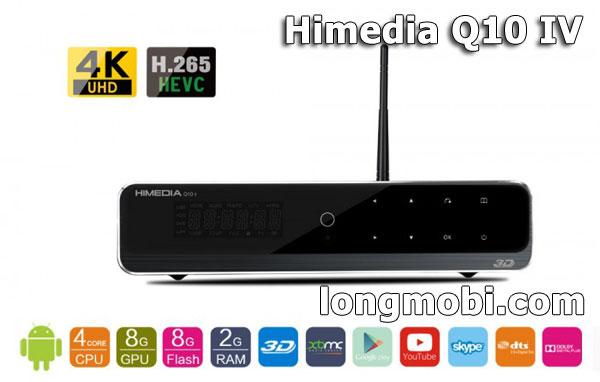 Androi tv box himedia q10 iv