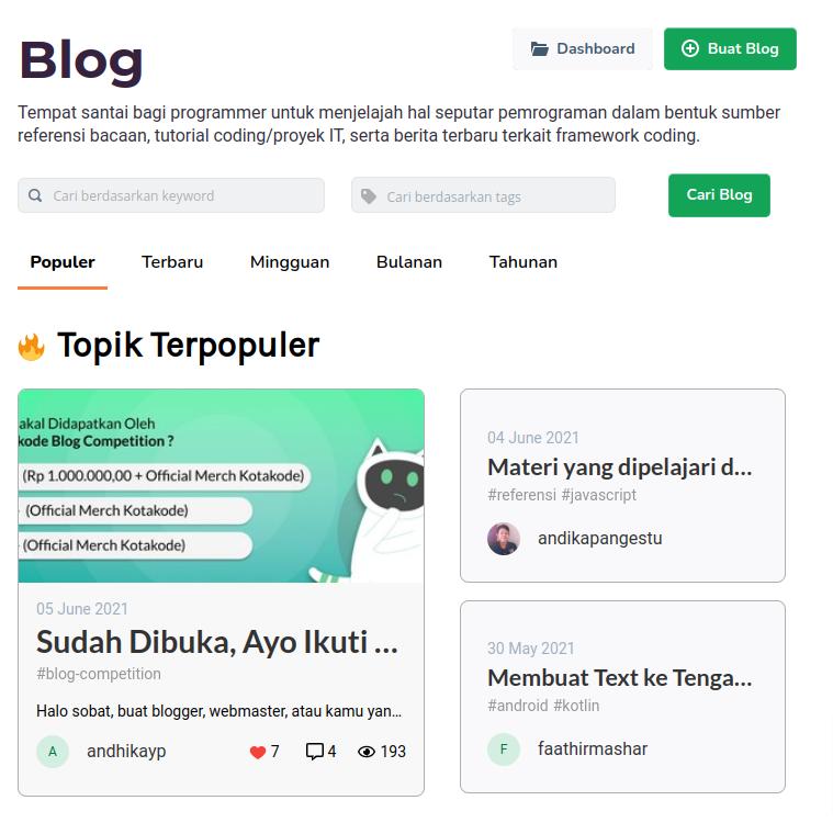 blog kotakode
