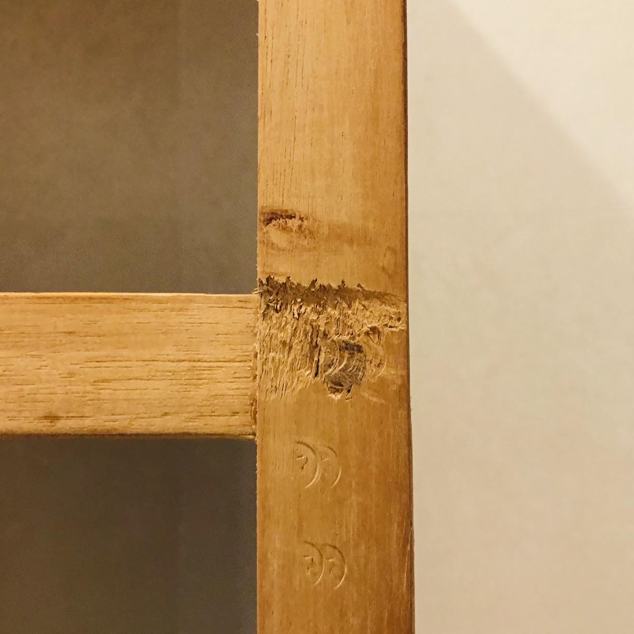 Slat Wood Étagère