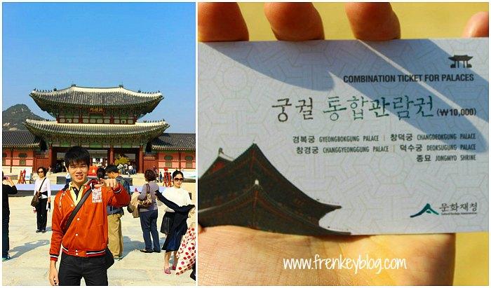 Tiket Kombinasi Palace ( Changdeokgung Palace ( Termasuk Huwon, Secret Garden), Changgyeonggung Palace, Deoksugung Palace, Gyeongbokgung Palace) dan Jongmyo Shrine )