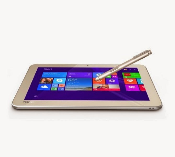Tablet giá rẻ của Toshiba đi kèm bút cảm ứng Wacom - 59319