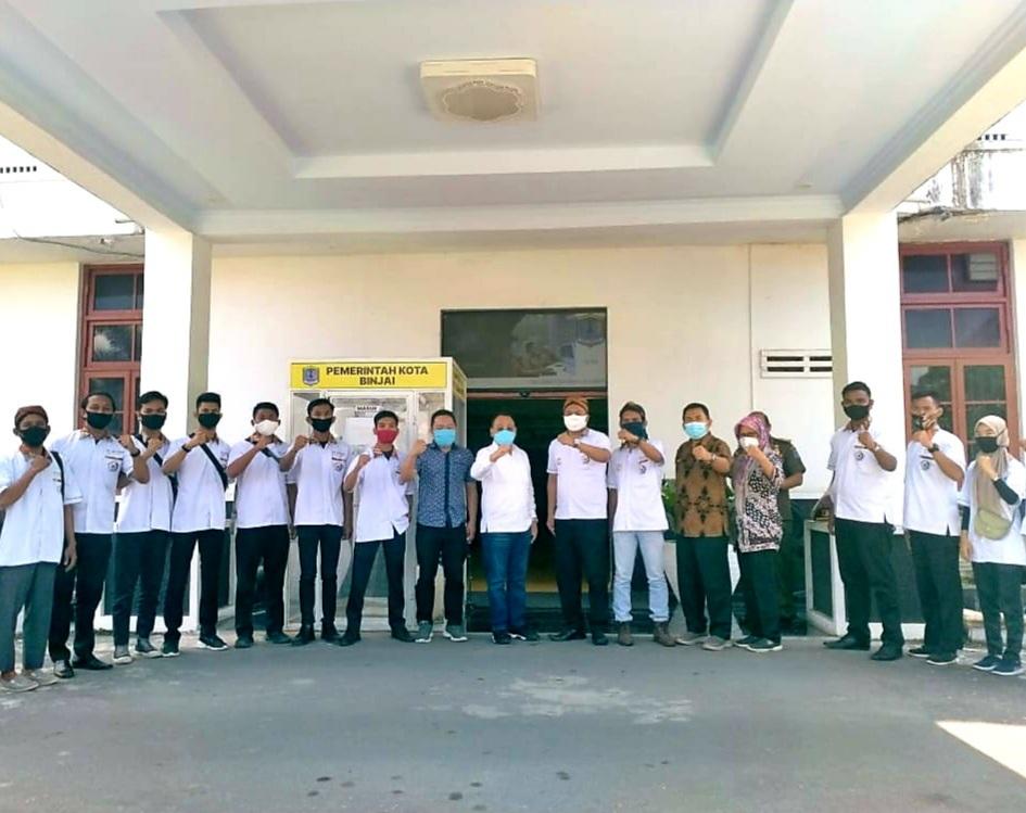 Walikota Binjai Terima Pengurus DPD GM Pujakesuma Kota Binjai