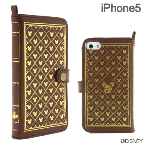 Disney Old Book Case for iPhone5 Monogram